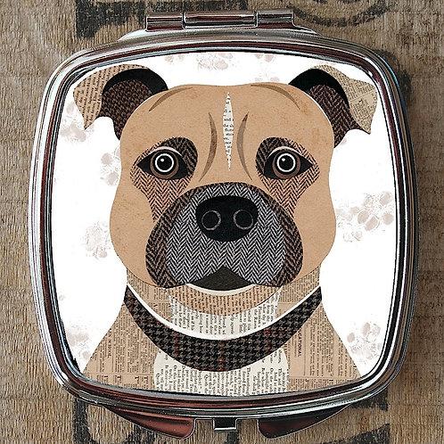 Staffie Compact Mirror