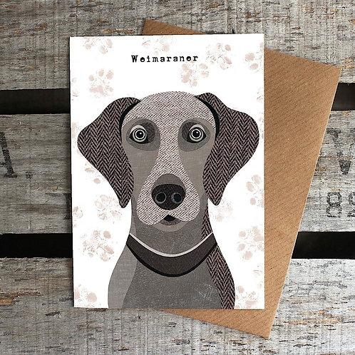 PAW36 - Weimaraner Card