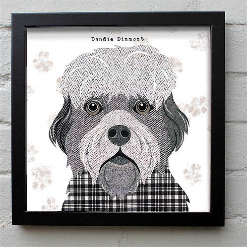 Dandie Dinmont Dog Art Print