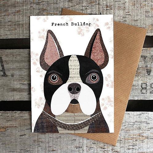 PAW24 - French Bulldog Card