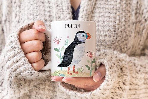 Puffin Personalised Mug