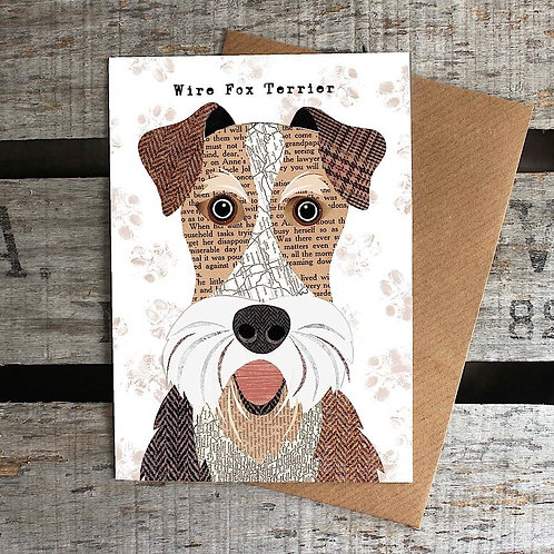 PAW23 - Wire Fox Terrier Card