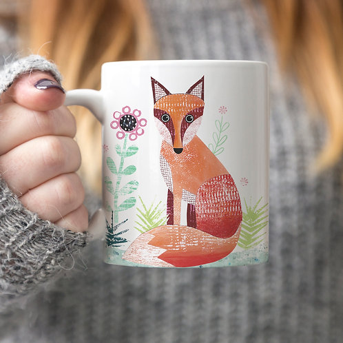 Fox Personalised Mug