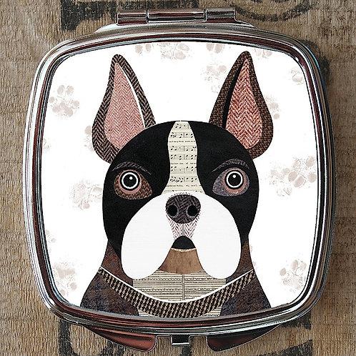 French Bulldog Compact Mirror