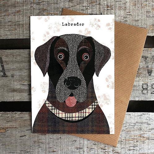 PAW06 - Labrador Dog Card