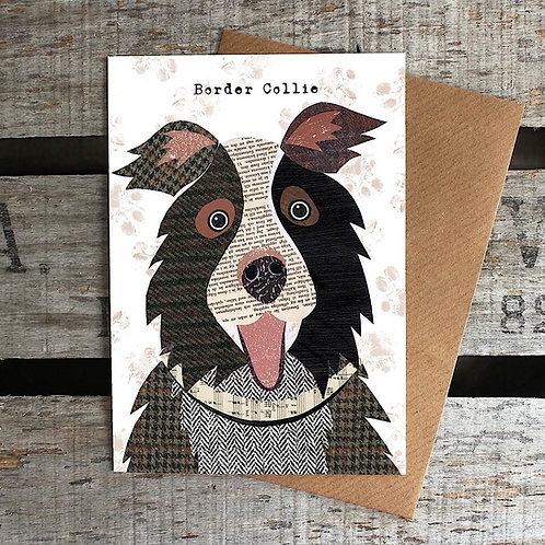 PAW02 - Border Collie Card
