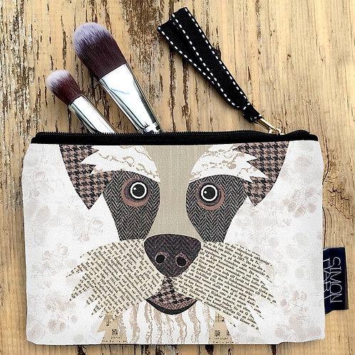 Schnauzer Dog Canvas Purse