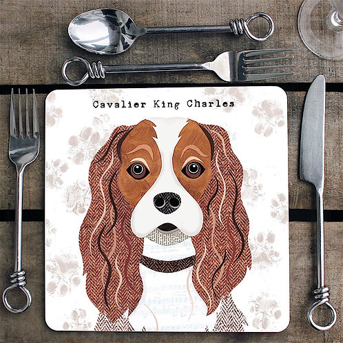 Cavalier King Charles ldog  Placemat/Coaster