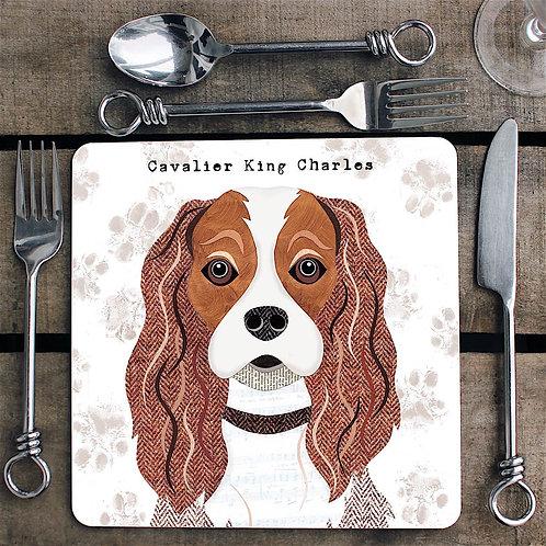 Cavalier King Charles ldog  Placemat/Coaster