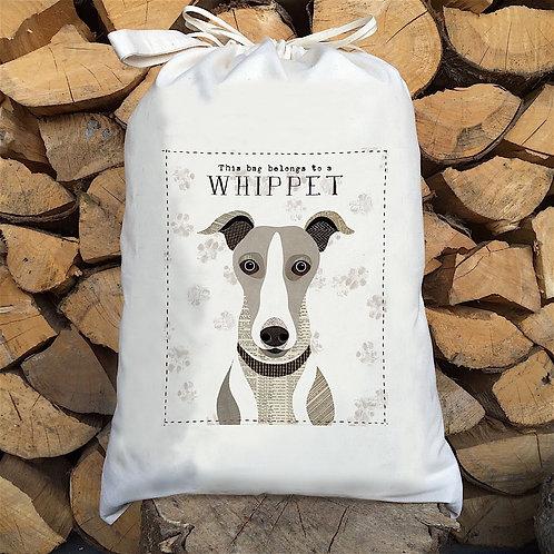 Whippet Dog Sack by Simon Hart