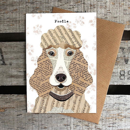 PAW30 - Poodle Card