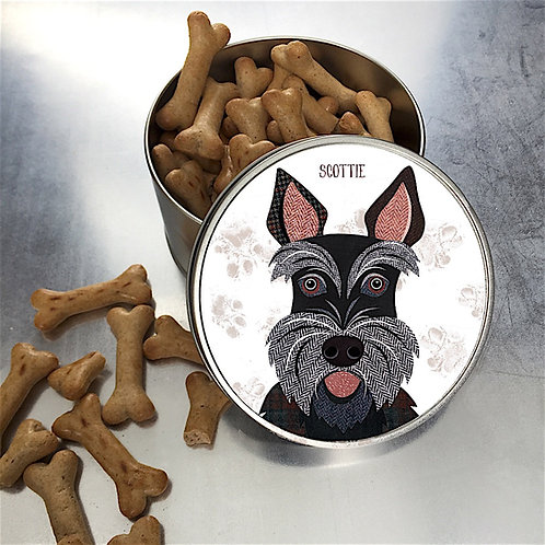 Scottie Dog Tin