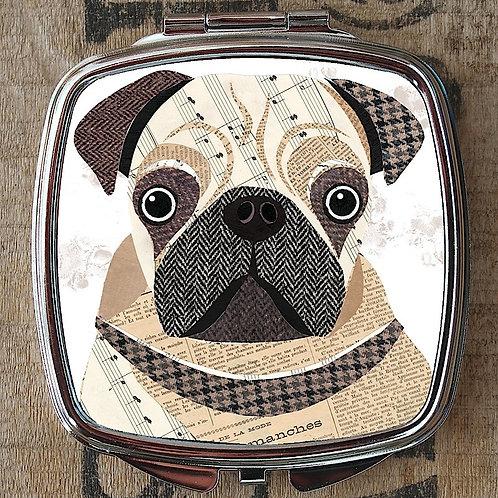Pug Compact Mirror