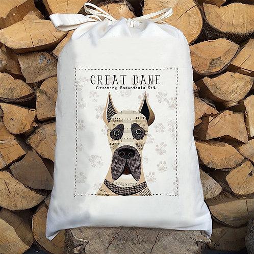 Great Dane Dog Personalised Large Drawstring Sack