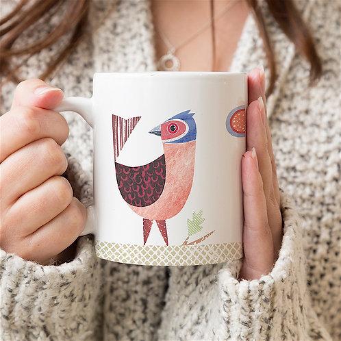 Chaffinch Personalised Mug