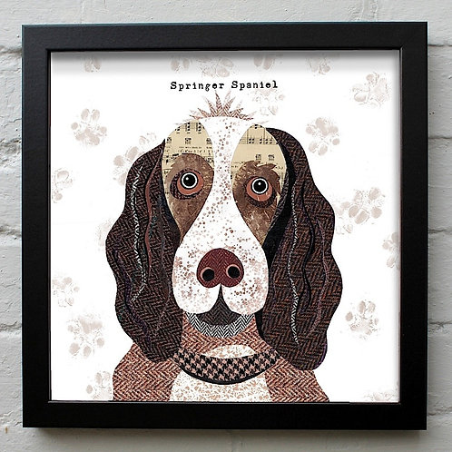 Springer Spaniel Dog Art Print