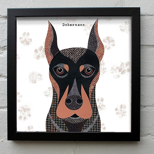 Dobermann Dog Art Print