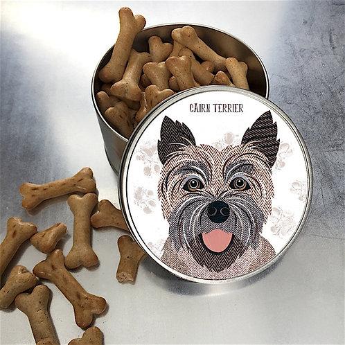 Cairn Terrier Dog Tin