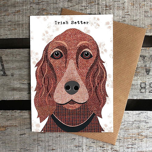 PAW45 Irish Setter Card