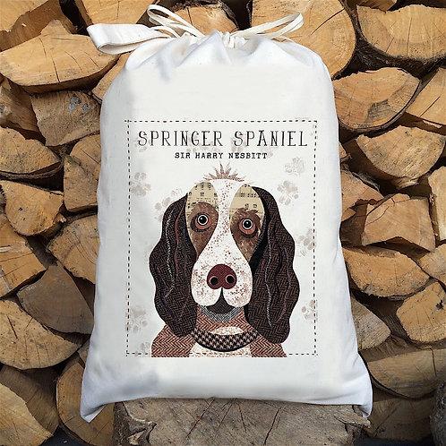 Springer Spaniel Liver Spotted Dog Sack