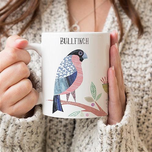 Bullfinch Personalised Mug