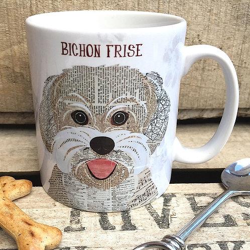 Bichon Frise dog mug