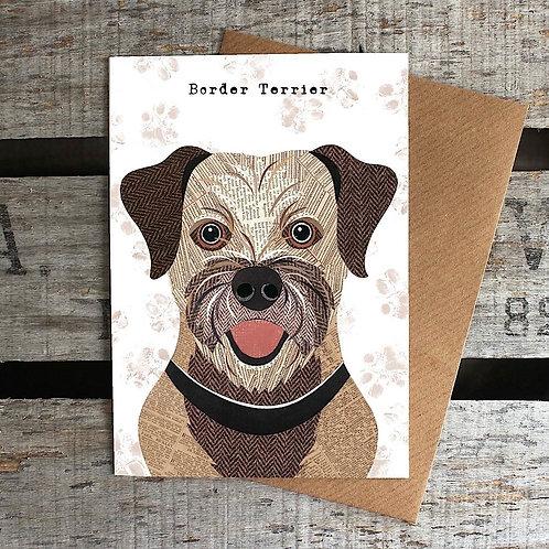 PAW14 - Border Terrier Card