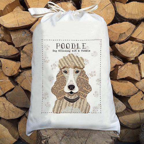 Poodle Dog Sack by Simon Hart