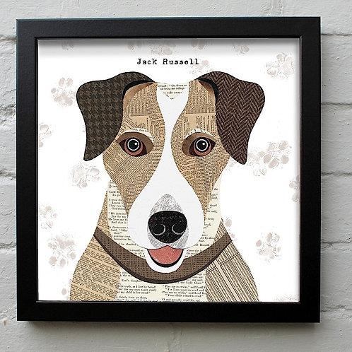 Jack Russell Dog Art Print