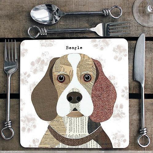 Beagle Placemat/Coaster