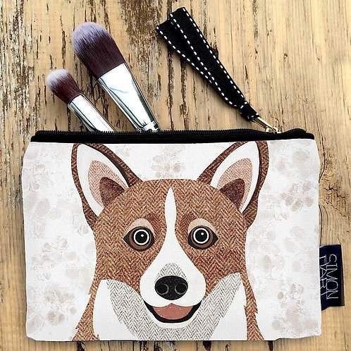 Corgi dog Canvas Purse