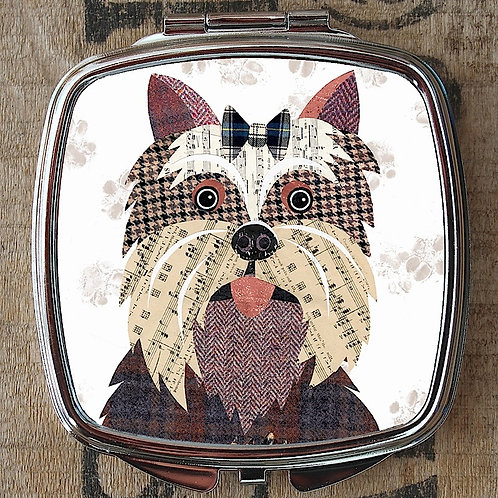 Yorkshire Terrier Compact Mirror