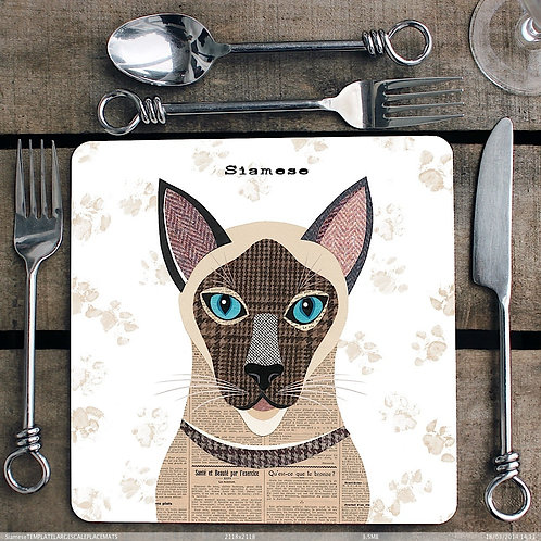 Siamese Cat Placemat