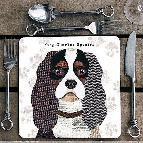 King Charles Spaniel Placemat/Coaster