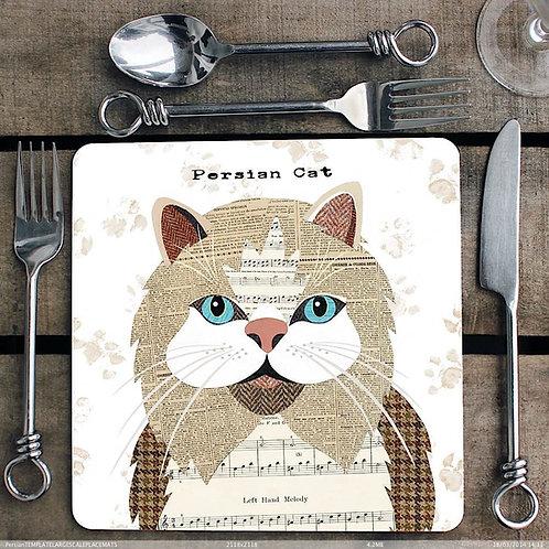 Persian cat  Placemat