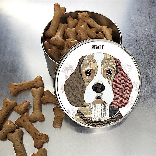Beagle Dog Tin