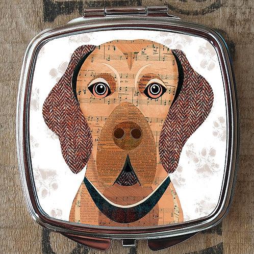 Vizsla Dog Compact Mirror