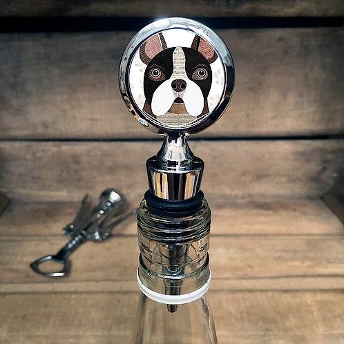 French Bull Dog Bottle Stopper