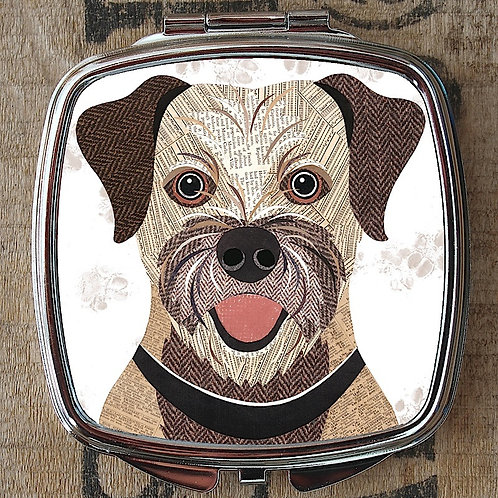 Border Terrier Compact Mirror