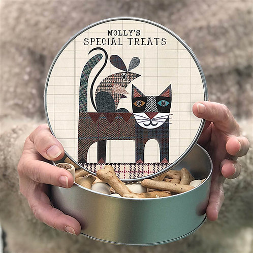 Personalised 'Cat and Mouse' Tin