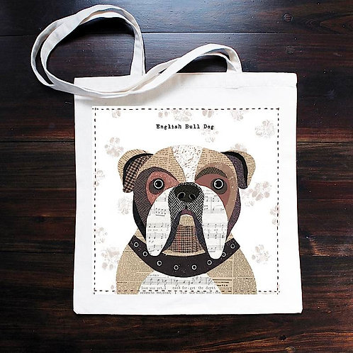 English Bulldog Dog Bag