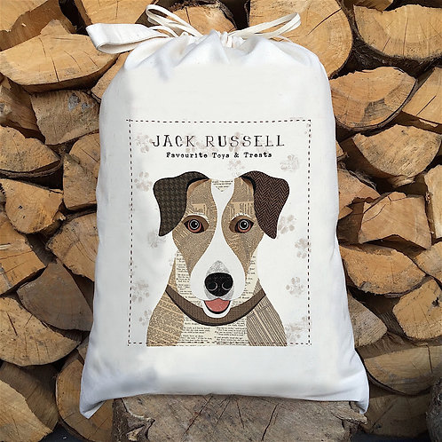 Jack Russell Dog Sack by Simon Hart