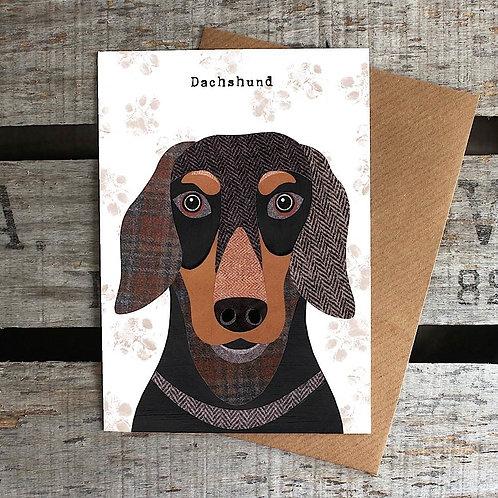 PAW20 - Dachshund Card
