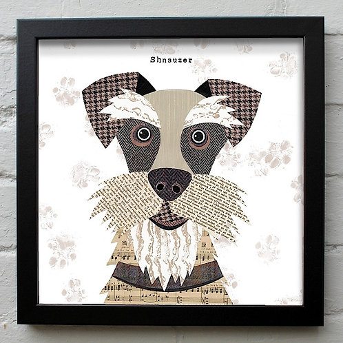 Schnauzer Dog Art Print