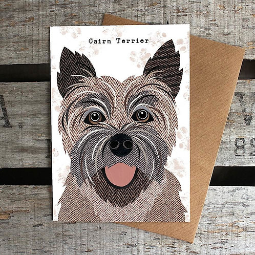 PAW39 Cairn Terrier Card
