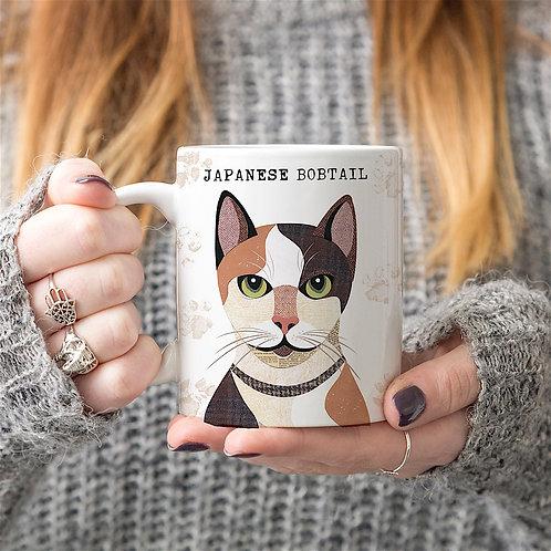 Japanese Bobtail Cat Mug