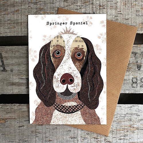 PAW03 - Springer Spaniel Card