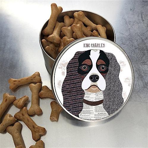 King Charles Spaniel Dog Tin