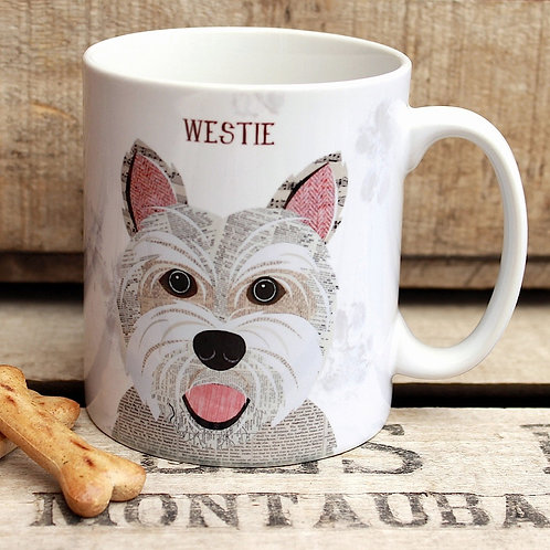 Westie  dog mug