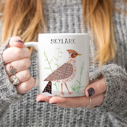 Skylark Personalised Mug